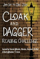 2017 Cloak and Dagger Reading Challenge Sign Up
