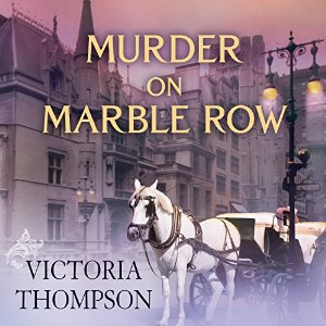 Murder on Marble Row (Gaslight Mystery, #6) by Victoria Thompson