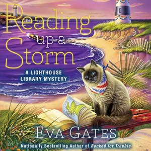 Reading Up a Storm (Lighthouse Library Mystery #3) by Eva Gates