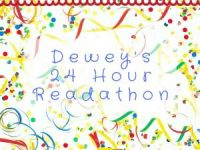 24 hour read-athon is happening! Well, maybe not! :(