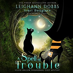 Audiobook review of A Spell of Trouble + giveaway
