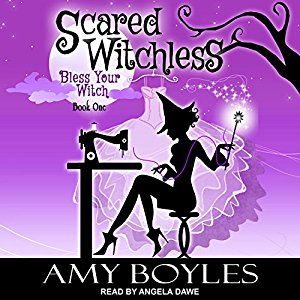 Audiobook review of Scared Witchless