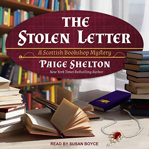 The Stolen Letter  by Paige Shelton