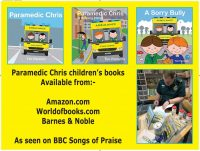 Audiobook review of the Paramedic Chris series