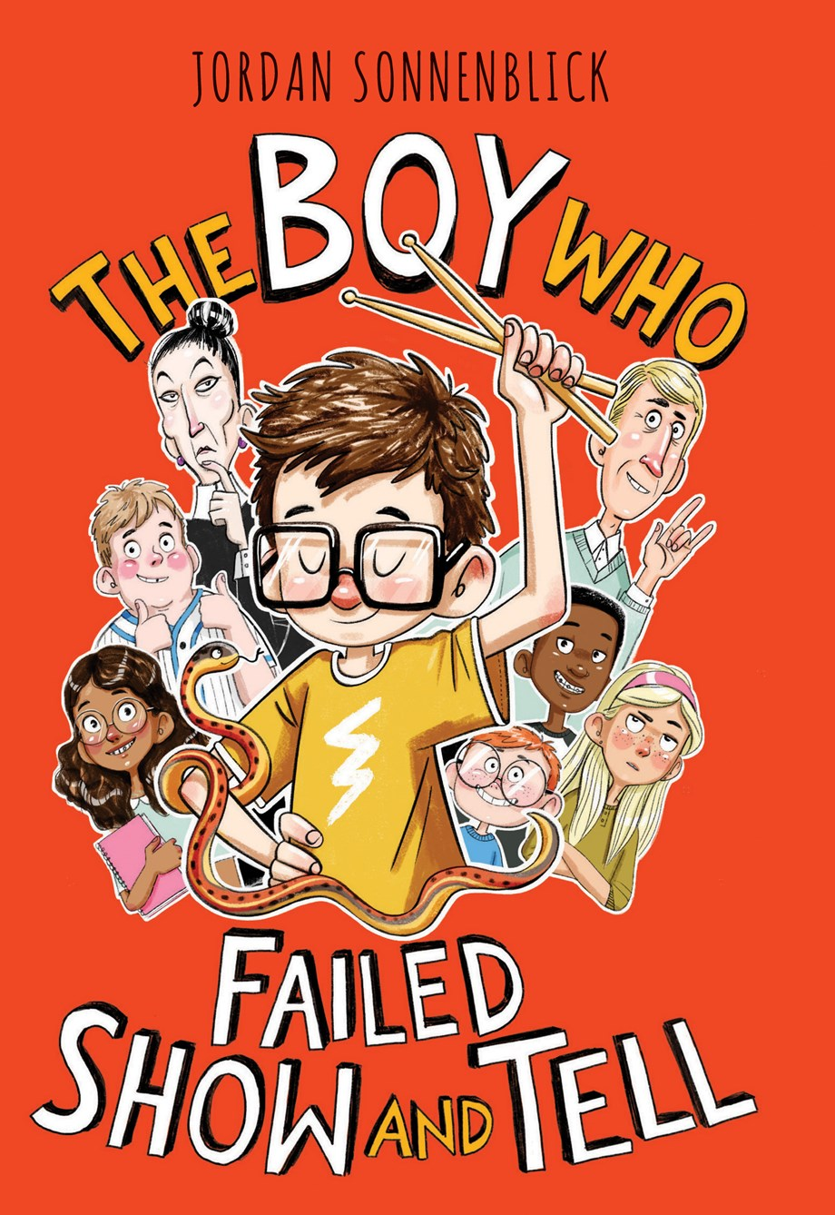 The Boy Who Failed Show and Tell by Jordan Sonnenblick
