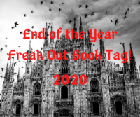 2020 End of the Year Freak Out Book Tag!