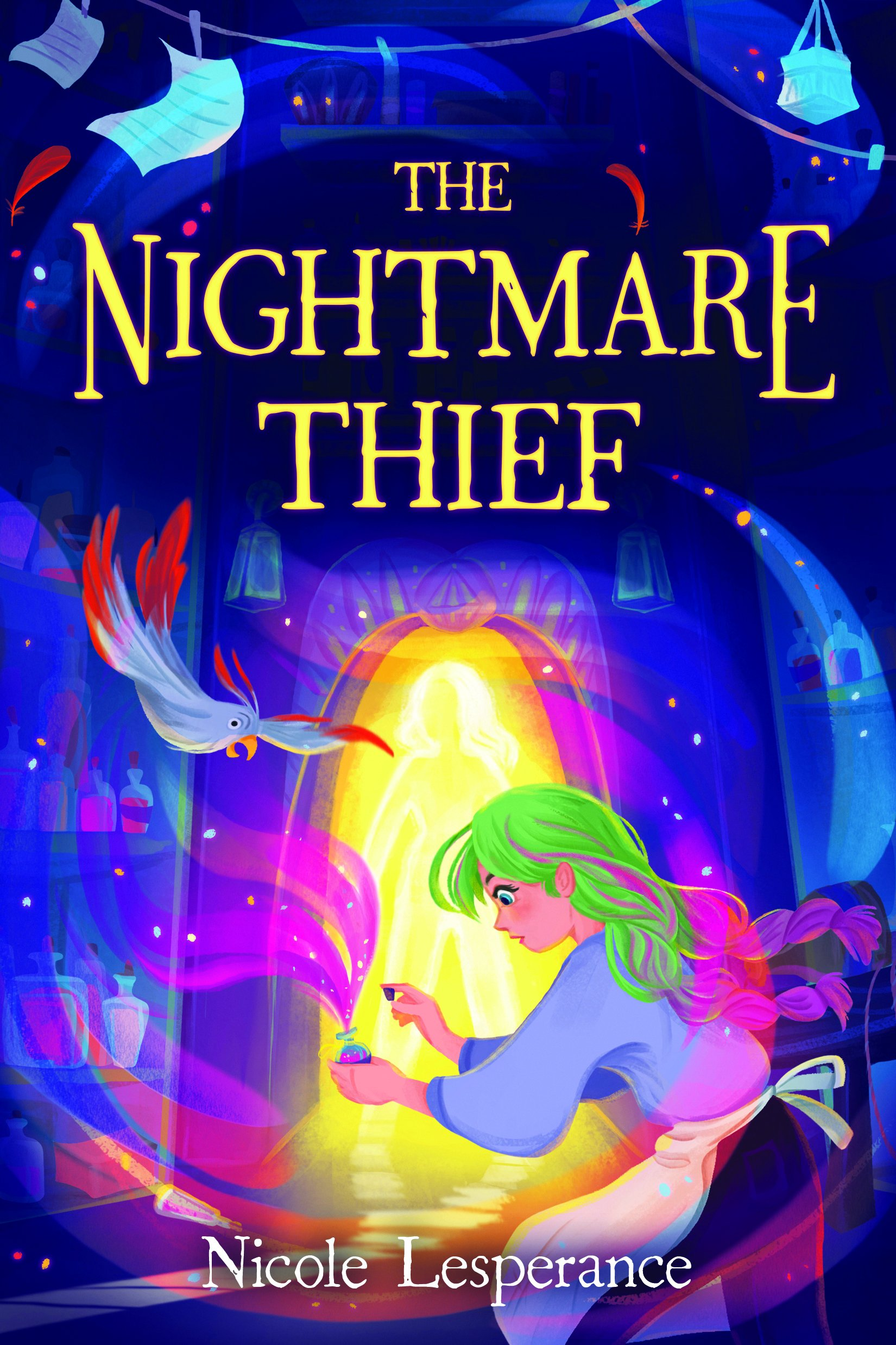 The Nightmare Thief by Nicole Lesperance, Federica Fenna