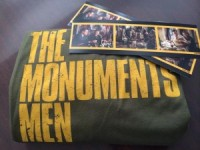 The Monuments Men giveaway!! (t-shirt, poster and bookmarks!)