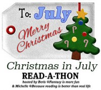 Christmas in July read-a-thon| COYER