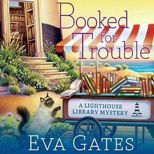 Audiobook review of Booked for Trouble