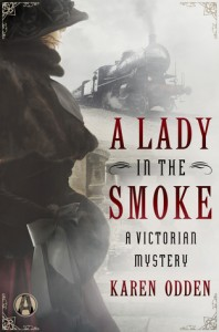 Lady in the smoke