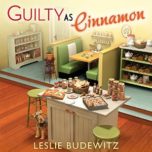 Audiobook review of Guilty as Cinnamon