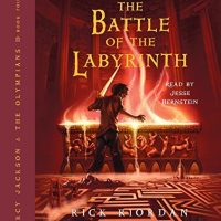 Audiobook review of Battle of the Labyrinth