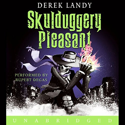 Skulduggery Pleasant (Skulduggery Pleasant, #1) by Derek Landy, Tom Percival