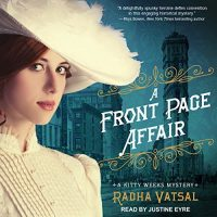 Audiobook review of The Front Page Affair #JIAM