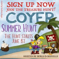 Join the Treasure Hunt! #COYER Summer Hunt