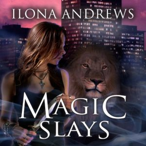 Audiobook review of Magic Slays ~ Two Bloggers One Series