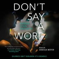Audiobook review of Don't Say a Word